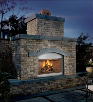 "Superior Outdoor Wood Burning Fireplace 36"" WRE3036 F0453 F0454"
