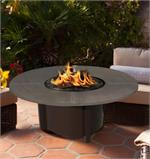 Carmel Round with Hand Crafted Aluminum Top