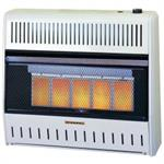 ML250HPA 25,000 BTU Infrared Vent Free Wall Heater ProCom Manual Control