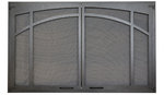 Decorative Mesh Screen Twin-Pane Door for Superior Vent Free Universal Fireboxes H1960 H1961