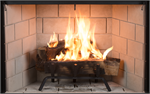 "WRT3543 43"" Superior Wood Burning Mid-Sized Traditional Radiant Fireplace"
