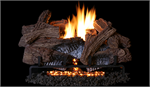 Wild Timber Vent Free Concrete Gas Logs and Triple Flame Burner