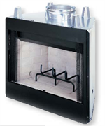 WRT2000/VB42 Smooth Faced Wood Burning Fireplace